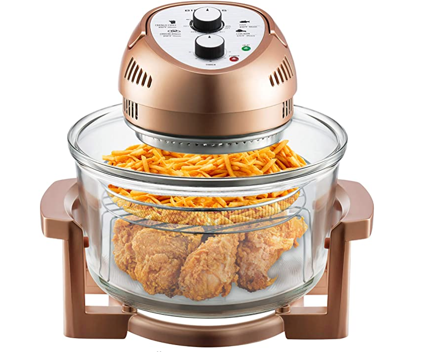 Under $100 Kitchen Gift Big Boss Oil-less Air Fryer